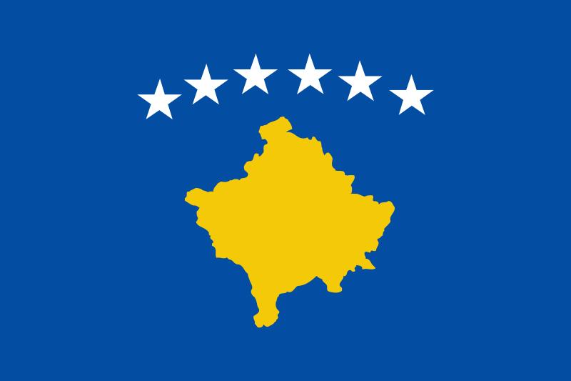 kosovo-flagge